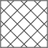 Stainless Steel 6x6 Tiles Diagonally Symetric
