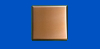 4 in. x 4 in. PVD Copper Tile #4 Brushed Finish