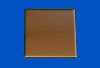 6 in. x 6 in. PVD Copper Tile #4 Brushed Finish
