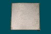 6 in. x 6 in. Stainless Steel Stucco Textured Tile Fiberock Backing