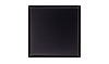 4 1/4 in. x 4 1/4 in. Aluminum Satin Black Tile Fiberock Backing