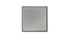 4 in. x 4 in. Clear Anodized Aluminum Tile Fiberock Backing