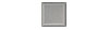 2 in. x 2 in. Brushed Aluminum Tile Fiberock Backing