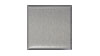 4 in. x 4 in. Brushed Aluminum Tile Fiberock Backing