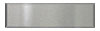 2 1/4 in. x 8 in. Brushed Aluminum Tile (Horizontal) Fiberock Backing