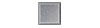 2 in. x 2 in. Brite Brushed Anodized Aluminum Tile