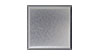 4 in. x 4 in. Bright Brushed Anodized Aluminum Tile