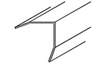 "Angle Trim for Outside Corners with Beveled Legs 1"" x 1"""