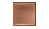 4 1/4 in. x 4 1/4 in. 110 Copper Tile #4 Brushed Finish