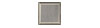 2 in. x 2 in. Stainless Steel Tile #4 Brushed Finish Hardboard Backing