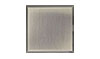 4 1/4 in. x 4 1/4 in. Stainless Steel Tile #4 Brushed Finish Hardboard Backing