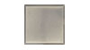 4 in. x 4 in. Stainless Steel Tile #4 Brushed Finish Hardboard Backing