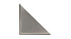 4 in. x 4 in. Triangular Tile Type 2 Hardboard Backing