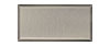 3 in. x 6 in. Stainless Steel Subway Tile #4 Brushed Finish (Vertical) Hardboard Backing