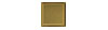 2 in. x 2 in. Stainless Steel Tile #4 Brushed Brass Finish Fiberock Backing
