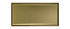 3 in. x 6 in. Stainless Steel Subway Tile #4 Brushed Brass Finish (Vertical) Fiberock Backing