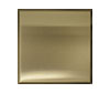 6 in. x 6 in. Stainless Steel Tile #4 Brushed Brass Finish Fiberock Backing