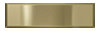 2 1/4 in. x 8 in. Stainless Steel Tile #4 Brushed Brass Finish (Horizontal) Fiberock Backing