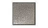 4 1/4 in. x 4 1/4 in. Stainless Steel Stucco Textured Tile