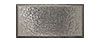 3 in. x 6 in. Stainless Steel Stucco Textured Tile