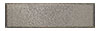2 1/4 in. x 8 in. Stainless Steel Stucco Textured Tile