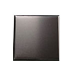 Satin Black Anodized Aluminum Tiles