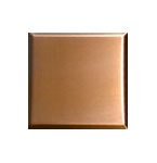 Brushed PVD Copper Stainless Steel Tiles