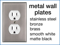Stainless Steel and Metal Wall Plates