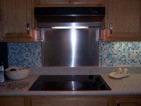 Superior 304 Stainless Steel Sheet Backsplash #4 Brushed (Satin) Finish  (non Magnetic)